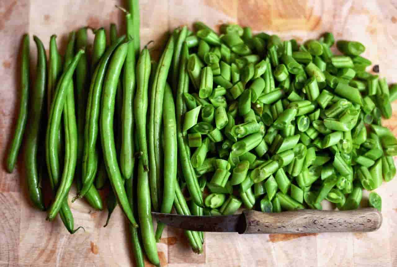 how to feed green beans for rabbits